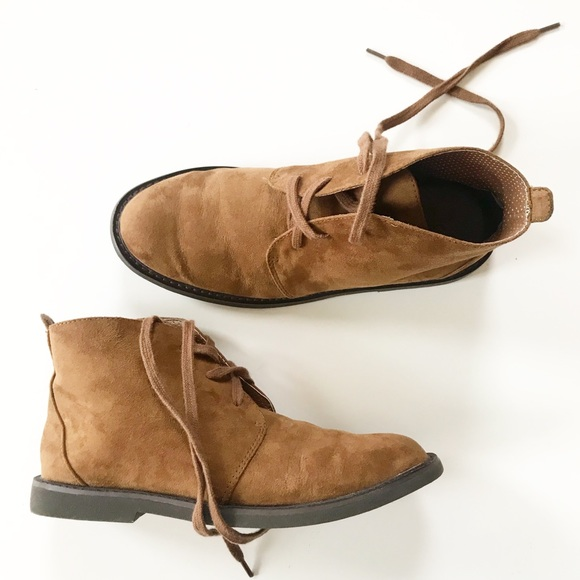 59496cf7b1 Cole Haan Shoes | Kids Brown Suede Chukka Lil Champ Boots | Poshmark